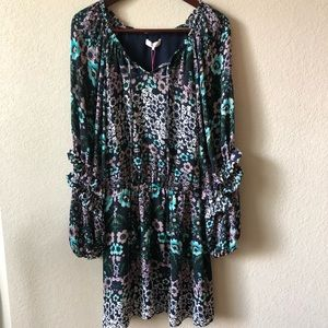 Parker | Long Sleeve Floral Dress Size - Small S